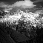 The Snow on Gothic Basin